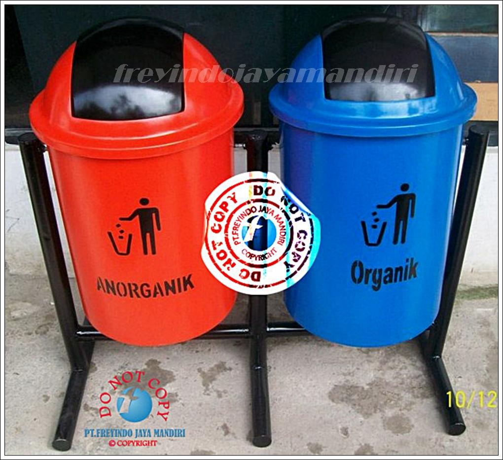 Pt Freyindo Jaya Mandiri Zehn Plastic Swing Bin Large Tempat Sampah Fiberglass